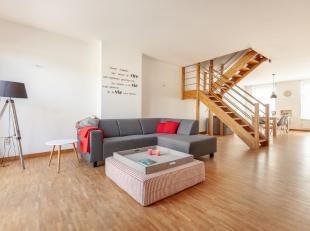 Dit duplex appartement is gelegen in een verkeersarme straat, in het hartje van Leuven. Het appartement, gelegen op de 2de en 3de verdieping, beschikt