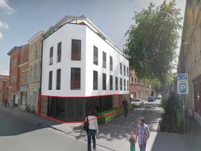Deze commerciële ruimte bevindt zich in een stijlvol nieuwbouw gebouw (aankoop onder BTW stelsel) dat recent opgeleverd werd. De grote ramenparti