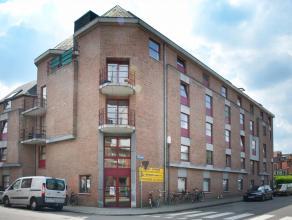 Op een boogscheut van de botanische tuinen in Leuven tref je dit gebouw uit 1993 aan waarin we verschillende studio's aanbieden. Deze studio op de 4e
