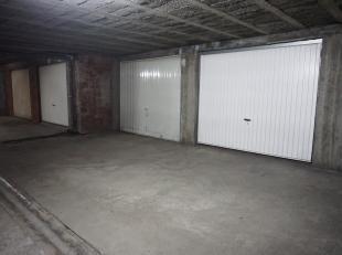 Ondergrondse garagebox nr. 31 in 'residentie Keyberg'.