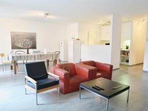 """Ruim appartement vlak bij """"het eilandje"""" (150 m van MAS, jachthaven en park spoor noord).Dit appartement bevindt zich op de gelijkvloerse verdieping."""