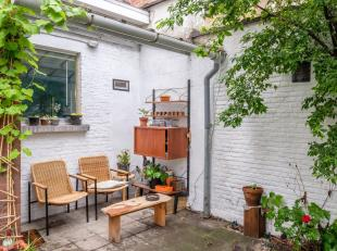 Schitterende burgerwoning met Zuid Tuin!U treft deze authentieke woning op een goede locatie te Antwerpen, met een directe verbinding met het vernieuw