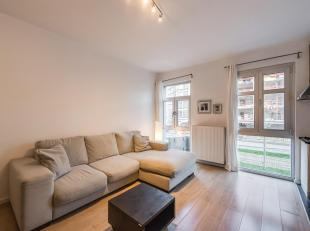 Tof tweeslaapkamer appartement op het Eilandje.<br /> Dit kwalitatief appartement is gelegen op het Eilandje (Antwerpen), met zicht op het Kattendijkd
