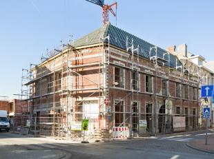 """Het """"Poorthof""""; vandaag wonen in de appartementen van de toekomst.In het centrum van Tienen wordt residentie """"Poorthof"""" gerealiseerd dat plaats biedt"""