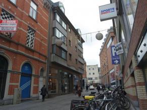 Charmant appartement met 2 slaapkamers op de vierde verdieping, in het hartje van Leuven. Gelegen in een zijstraatje tussen de Bondgenotenlaan en de D