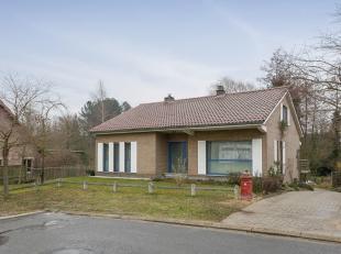 Ruime woning in een rustig, verkeersarm, doodlopend straatje te Oud-Heverlee.Deze villa is gebouwd op een oost - zuidoost georiënteerd perceel va