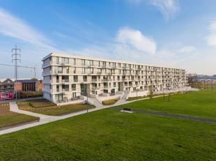 """Nieuwbouw appartement (95 m²) met twee slaapkamers en twee terrassen gelegen in een mooi groen kader vlakbij het recreatiedomein """"Viander"""" te Tie"""