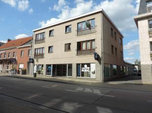 Appartement (netto 88 m²) met 3 slaapkamers en kelderberging gelegen in het centrum van Hoegaarden.Het appartement is gelegen op de 2de verdiepin