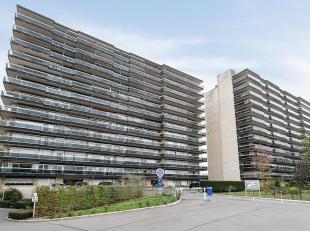 Tof en ruim appartement (90 m2) met drie slaapkamers, groot terras en kelder gelegen aan de Tiense stadsrand.Het appartement is gelegen op de twaalfde