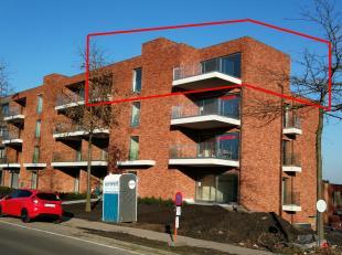 App 3.3 op de plannen, het betreft hier het grootste appartement en tevens penthouse in loft-stijl. Er is een prachtige woonkamer, een keuken met kook