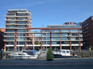 Mooi en energiezuinig appartement (56m²) met 1 slaapkamer zeer gunstig gelegen in de Residentie Waterside aan de Vaartkom, op slechts enkele stap