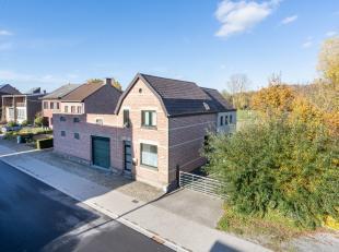 Prachtig gelegen woning met 5 paardenstallen, piste, opslagruimte 52 m², grote garage 42 m²  en mogelijkheid tot aankoop van de achtergelege