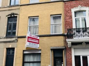Uitzonderlijke prijs voor ruime woning (met opbrengstgedeelte) met centrale ligging in hoofdstraat van Leuven, op wandelafstand van station en centrum