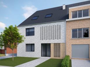 NIEUWBOUW gelijkvloers duplex appartement met een  oppervlakte van circa 135m² + een terras + een tuinberging (in optie)+ een private tuin.<br />