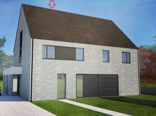 Deze woning wordt gebouwd op een stuk grond van 5.10 are. De totale woonoppervlakte is 223m². Standaard in deze woning is er een bureauruimte voo