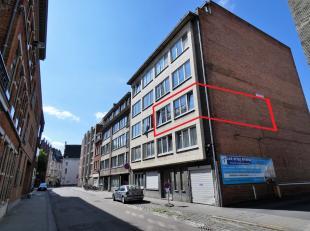 Mooi en lichtrijk appartement op de tweede verdieping, gelegen in het centrum van Leuven en toch heel vlot bereikbaar. Het appartement is vier jaar ge