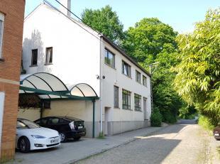 Grote en zeer rustig gelegen woning met polyvalente werkplaats in een groene omgeving aan de Kesselse Bergen met mogelijkheid om het gelijkvloers te g