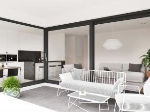 Op wandelafstand van het centrum van Hasselt in de nieuwbouwresidentie VALLAU ligt dit mooie appartement met een opp. van 95m² + terrassen van 10