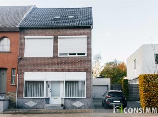 Deze gezellige halfopen woning met 3 slaapkamers is kortbij het centrum van Hasselt gelegen. U heeft alle nodige faciliteiten in de directe omgeving z