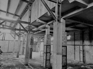 Unieke locatie vlakbij centrum, Krüger shoppingcenter, station en College O.L.V. Ten Doorn : te renoveren industrieel pand aan pleintje met bouwv
