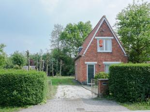 """Vrijstaande woning in zeer groene en aangename omgeving. Prachtig en residentieel gelegen op """"het Eiland"""" in een oase van groen en rust, maar toch in"""