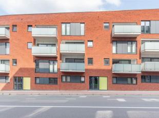 Nieuwbouwappartement in Residentie Belle-Vue II, gelegen vlak achter station Leuven. Het appartement met één slaapkamer is gelegen op he
