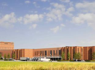 """Diverse oppervlakte logistieke magazijnruimtes in het prestigieuze """"Ghent Gateway"""" project, aan het kruispunt van de R4, E17 en E40 te Zwijnaarde regi"""