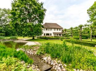 """Het domein """"Raesborre"""" is een unieke plek nabij Leuven die men zowel voor commerciële als residentiele doeleinden kan aanwenden. De kasteelvilla"""