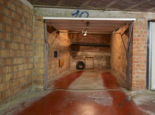 In het nieuw kwartier (tussen Naamsestraat en Parkstraat), in de Maria Van Belstraat bieden wij deze ruime ondergrondse afgesloten garagebox aan. De g