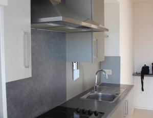 Gezellig appartement met recent gerenoveerde keuken.<br /> Het appartement omvat: inkom-/nachthal, leefruimte met terras, aparte keuken, é&eacu