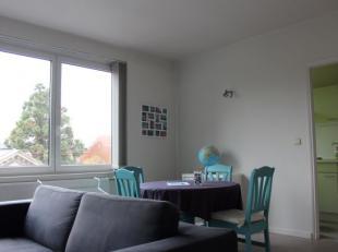 Bemeubeld appartement gelegen in het hartje van Leuven met twee slaapkamers. Instap klaar met volgende indeling: inkomhal, leefruimte, aparte keuken,