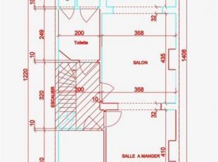 OPTION OPTION OPTION !!! GANSHOREN - REF : 3593833 - Situé au 1er étage d'une petite co-propriété SANS CHARGE de 3 &eacute