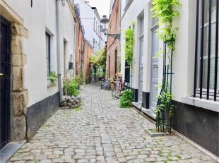 BRUXELLES - REF: 3770592 - Quartier Dansaert. En plein coeur de Bruxelles, nous vous proposons cette belle maison atypique entièrement r&eacute