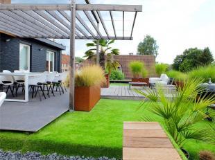 DILBEEK - REF: 3812855 - Situé dans une rue calme, proche du centre de Dilbeek, nous vous proposons ce magnifique duplex de 3 façades av