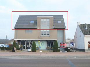 Prachtig dakappartement met ruim terras gelegen te Geel Winkelomseheide.<br /> Dit mooie dakappartement bestaat uit inkomhal met apart toilet, lichtri