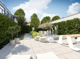 2 slaapkamer-appartement in het luxueuze project Paul Stevens in casco-staat met prachtig terras van 12 m2 met zicht op de Leie en de Bijloke...<br />