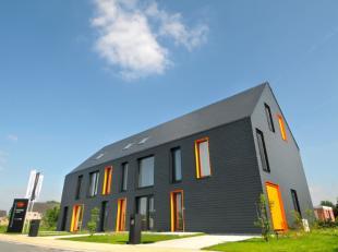 Deze woning werd gebouwd volgens de normen van de toekomst, met een uitzonderlijke isolatie (E-9). Zo goed als energie-neutraal en voorzien van warmte