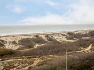 Instapklare gemeubelde studio gelegen op de bovenste (9de) verdieping van de residentie Astrid met vrij zicht op zee, duinen en hinterland. Indeling: