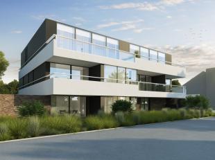 """Dit magnifiek nieuwbouwappartement op wandelafstand van het centrum van Roeselare in residentie """"Adriano"""" is kleinschalig en heeft een moderne archite"""