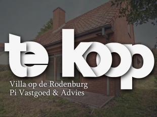 MARKE (Rodenburg) rustig, residentieel gelegen op te frissen villa in doodlopende straat en in een oase van groen op 1200m² volledig met groen om