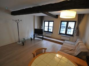 Magnifique appartement 1 chambre, dans une rue piétonne en plein quartier du Sablon, proche de tous types de transports en commun.<br /> 1chamb