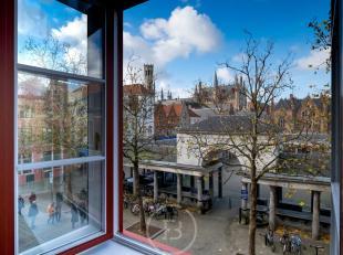 Dit authentiek en multifunctioneel handelsgelijkvloers (180 m² ) met uitbreidingsmogelijkheid tot 230 m2 of tot 600 m2 is gevestigd op de Vismark