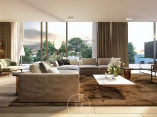 Prachtig nieuwbouw penthouse in de klassevolle Residentie Albéric. Stijlvolle afwerking, veel lichtinval, grote ruimtes en mooi terras. Dit all