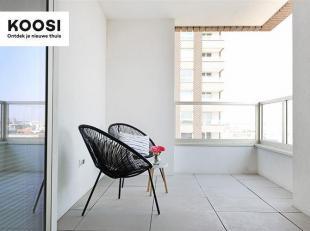 """Dit mooie 2 slaapkamer appartement bevindt zich op de 12de verdieping van Residentie Westkaai toren 5"""", in het hart van het bruisende eilandje.<br />"""