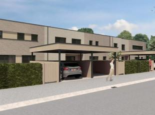 5 doorzonwoningen vlak buiten de grote ring in Hasselt aan de Veldstraat. Ideale ligging in een nieuwe verkaveling op wandelafstand van winkels. Openb