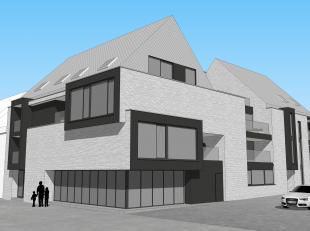 TOPLIGGING: Vergunde projectgrond voor het bouwen van 14 appartementen met ondergrondse parking.<br /> <br /> Pal in centrum van Aarschot, vlakbij sta