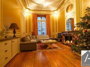 Ideaal gelegen aan de Rue du Trône in een prachtig Hôtel de Maître Brussel, prestigieus kantoor voor vrije beroepen of kleine gebouw