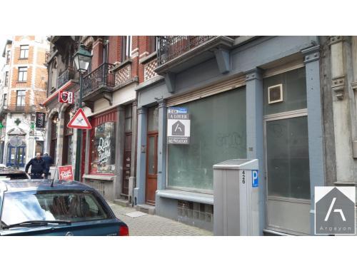 Commerce à louer à Saint-Gilles, € 1.000