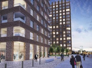 Prachtig, nieuw appartement met adembenemend zicht op water en de stad. Onmiddellijk beschikbaar. Optioneel inpandige parkeerplaats te koop. Bulthaup