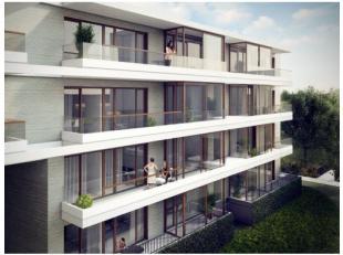 Nieuw, duurzaam appartement met 2 slaapkamers op toplocatie met terras. Volledig ingerichte keuken met afwasmachine. Vlotte verbinding met autostrades